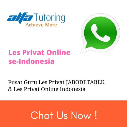 les privat online, bimbel online, guru privat online, guru les privat online, les online